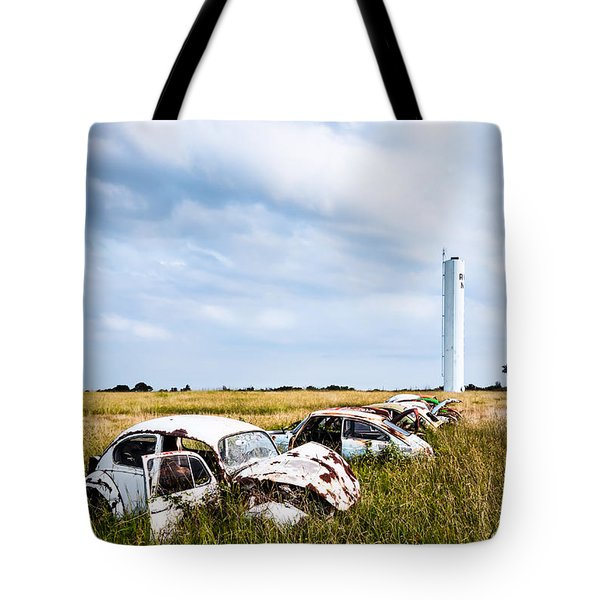 Beetles At Rest Tote Bag