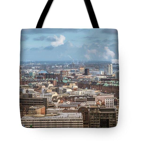 Befor A Snow Storm Hamburg Tote Bag