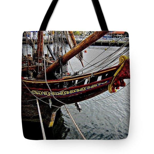 Before Setting Sail Tote Bag by Douglas Barnard