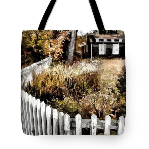 Before Snow Flies Tote Bag by Betsy Zimmerli