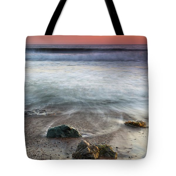 Before Sunset At Shell Beach Tote Bag