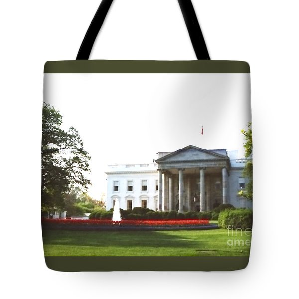 Tote Bag featuring the photograph Before The Baracades by Jesse Ciazza