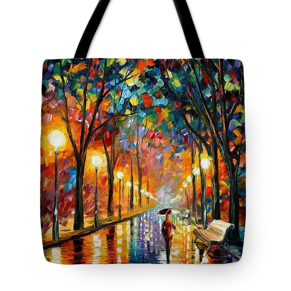 Before The Celebration Tote Bag by Leonid Afremov
