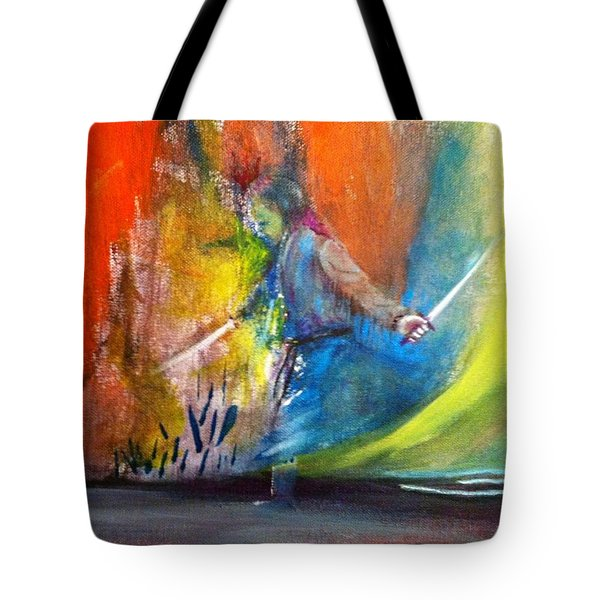 Before The Duel Tote Bag