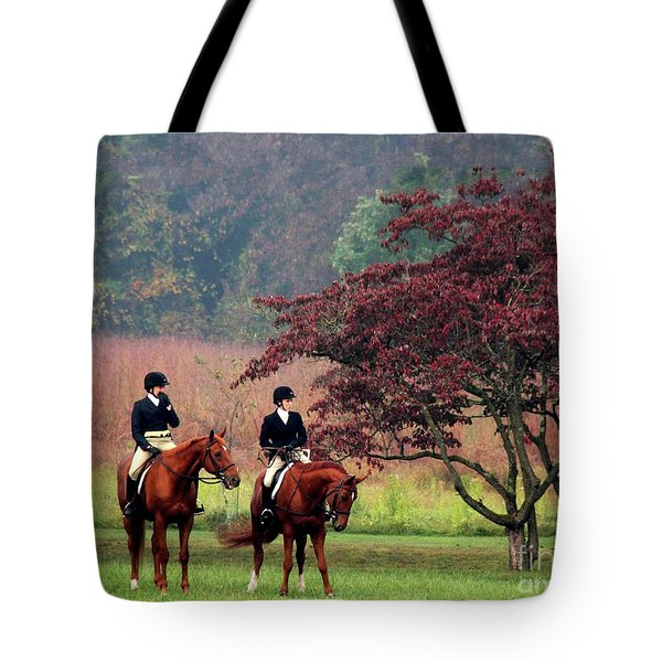 Tote Bag featuring the photograph Before The Hunt by Polly Peacock