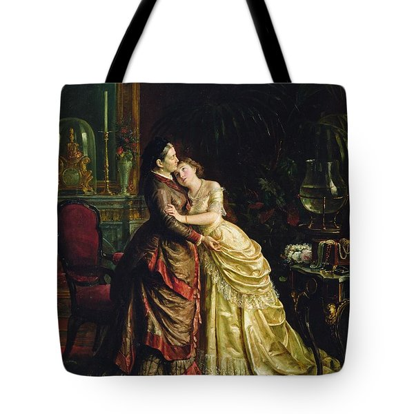 Before The Marriage Tote Bag by Sergei Ivanovich Gribkov