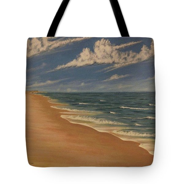 Tote Bag featuring the painting Before The Move by Stacy C Bottoms