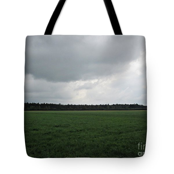 Before The Storm Near Ausgburg Tote Bag
