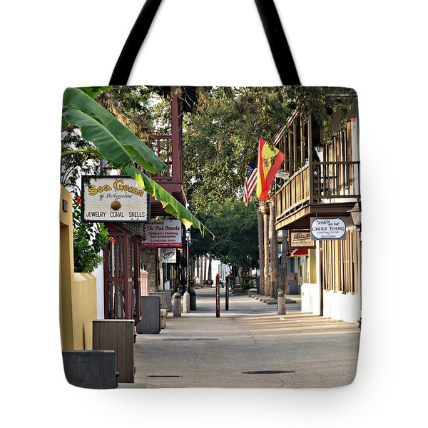 Before The Tourists 1 Tote Bag