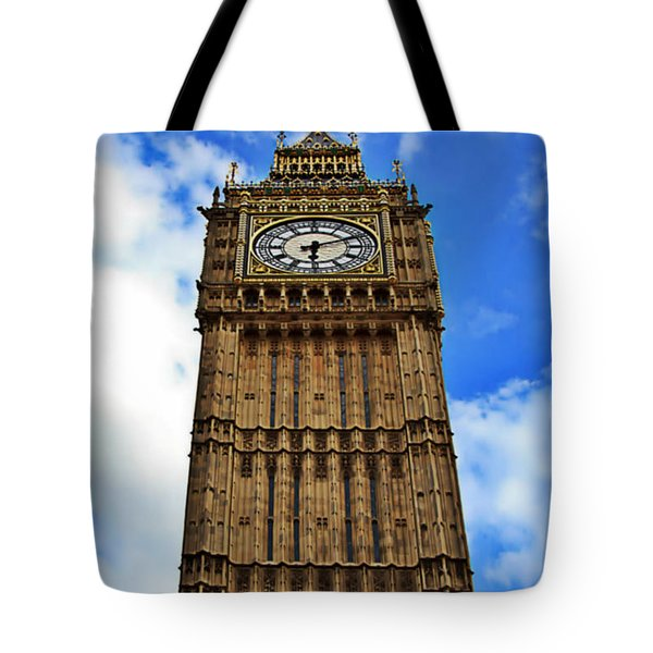 Big Ben Stands Tall Tote Bag