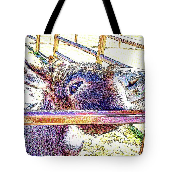 Begging For Attention Tote Bag