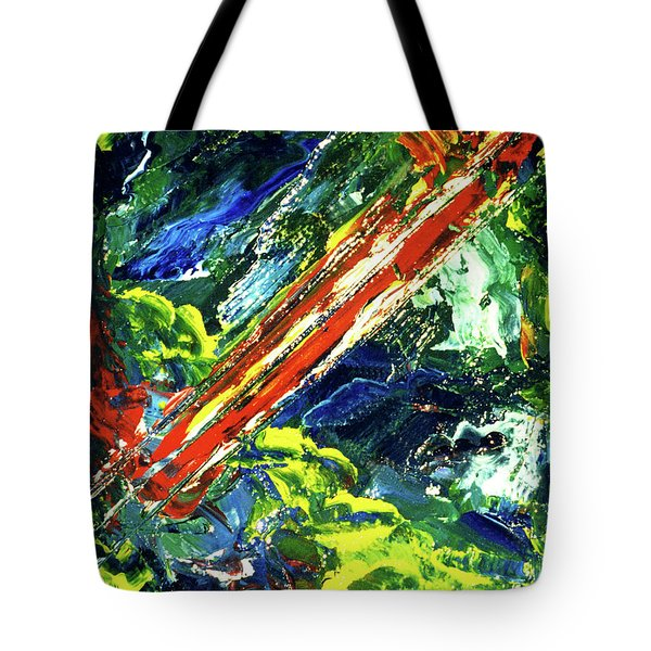 Beginnings #186 Tote Bag by Donald k Hall