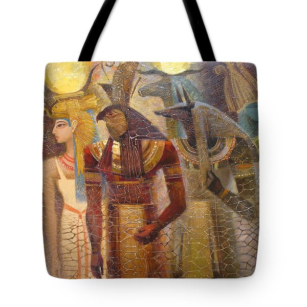 Beginnings. Gods Of Ancient Egypt Tote Bag