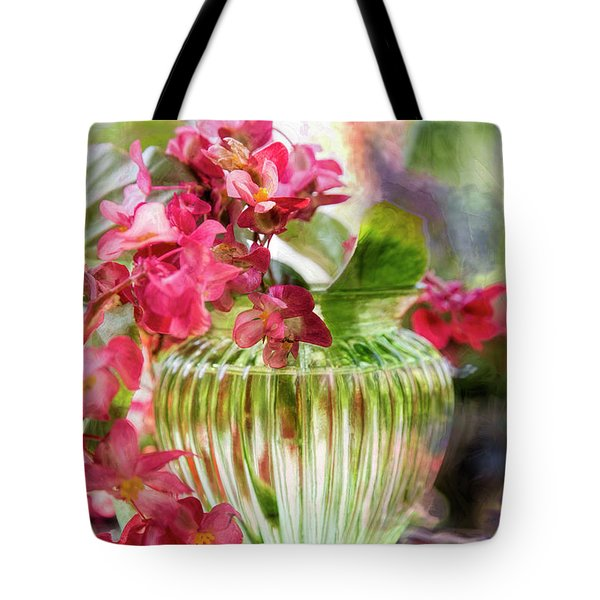 Begonia Art Tote Bag