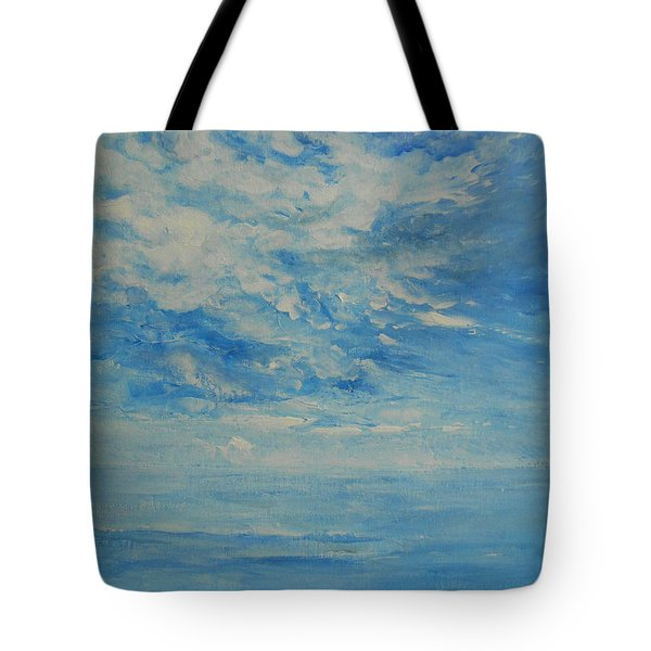 Behind All Clouds Tote Bag