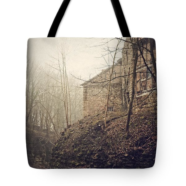 Behind Ancient Walls Tote Bag