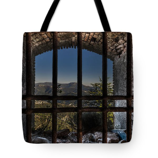 Tote Bag featuring the photograph Behind Bars - Dietro Le Sbarre by Enrico Pelos
