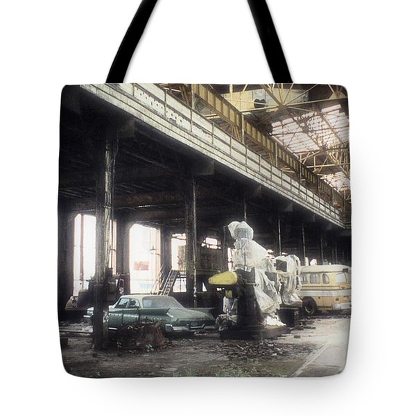 Behind Closed Doors Tote Bag by Richard Rizzo