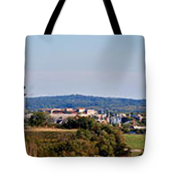 Behind Pats Hill Tote Bag