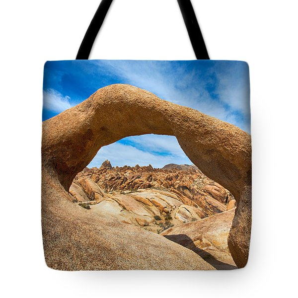 Behind The Arch Tote Bag