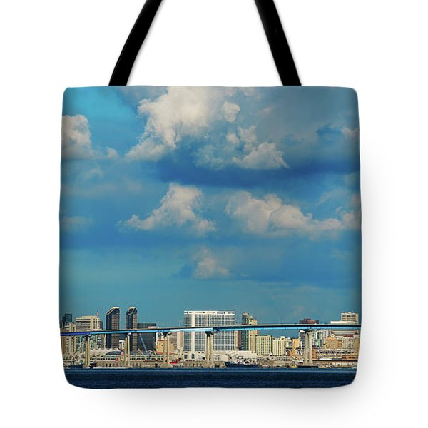 Behind The Bridge Tote Bag