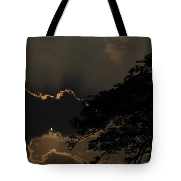Behind The Cloud Tote Bag