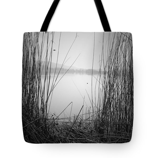 Tote Bag featuring the photograph Behind The Curtains by Yuri Santin