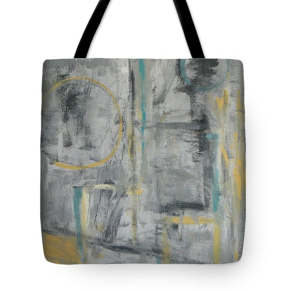 Behind The Door Tote Bag by Trish Toro