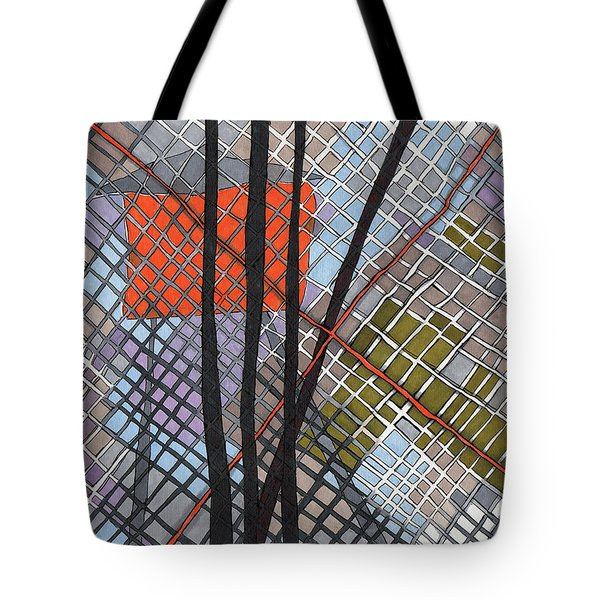 Behind The Fence Tote Bag by Sandra Church