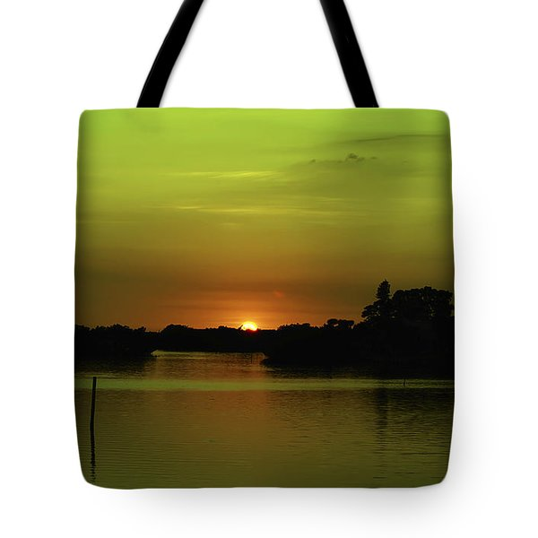 Behind The Horizon Tote Bag