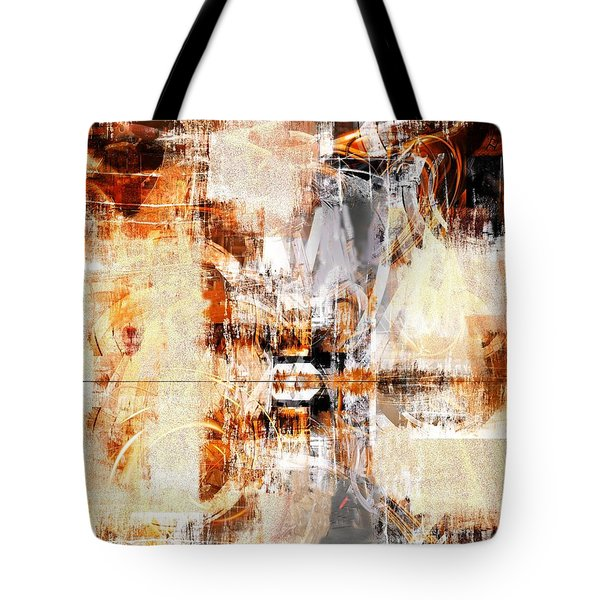 Tote Bag featuring the digital art Behind The Scenes by Art Di