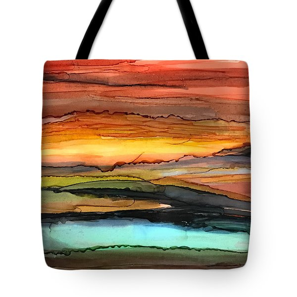 Behind The Sun Tote Bag