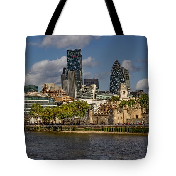 Behind The Tower Tote Bag