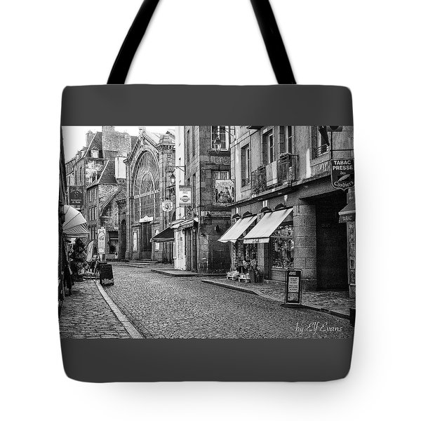Tote Bag featuring the photograph Behind The Walls 2 by Elf Evans