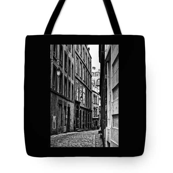 Tote Bag featuring the photograph Behind The Walls  by Elf Evans