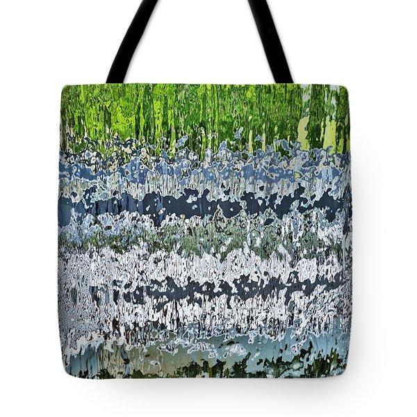 Behind The Waterfall Tote Bag