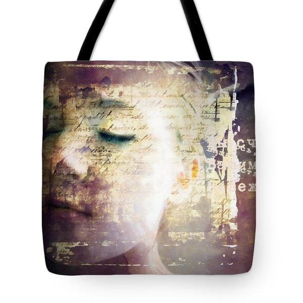 Behind The Words Tote Bag