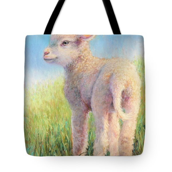 Behold The Lamb Tote Bag