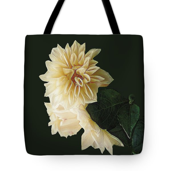Beige Bold And Beautiful Tote Bag by RC DeWinter