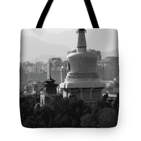 Beijing City 3 Tote Bag by Xueling Zou