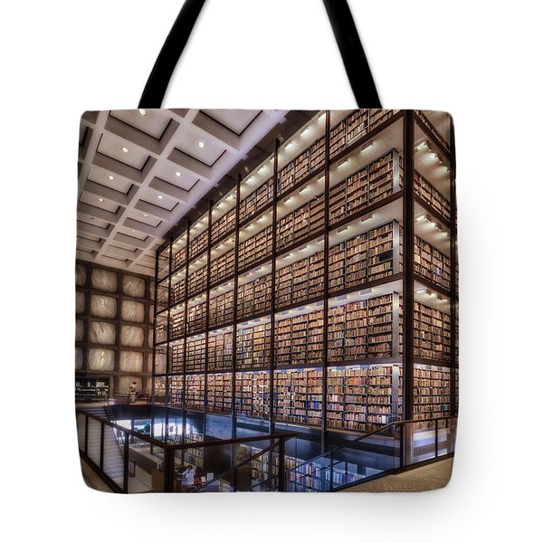 Beinecke Rare Book And Manuscript Library Tote Bag