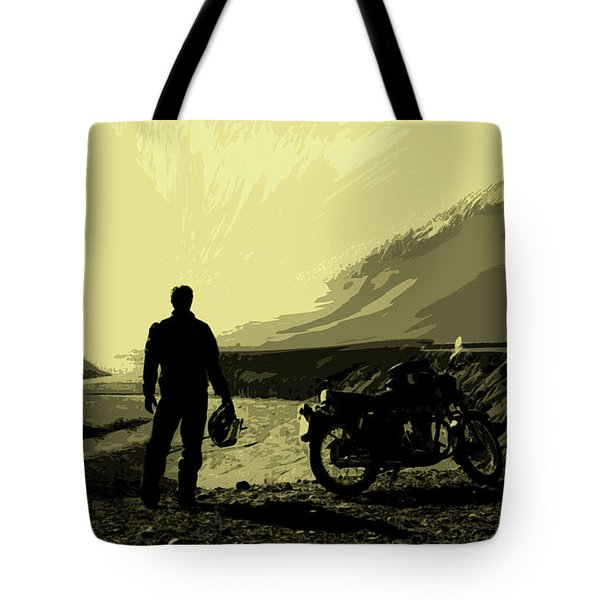 Being In The Movie II Tote Bag