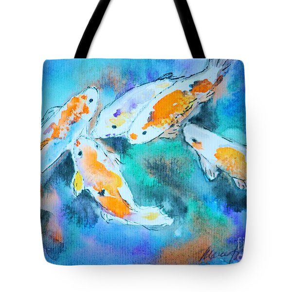 Being Koi Tote Bag