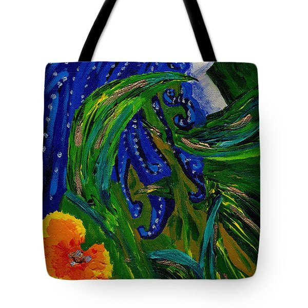 Being Of The Flowers Tote Bag