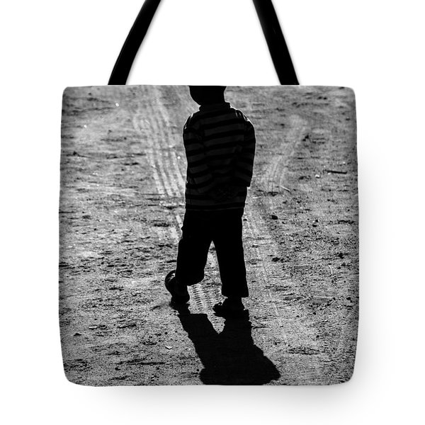 Tote Bag featuring the photograph Being Tailed Again  by Jez C Self