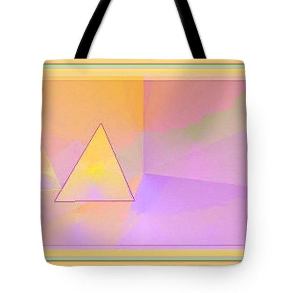 Beings Of Light Portal Tote Bag