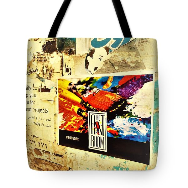 Beirut Wall  Tote Bag