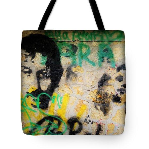 Beirut Wall Love Tote Bag