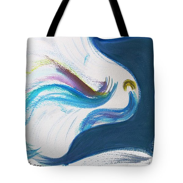 Beit Breathe And Meditate Tote Bag