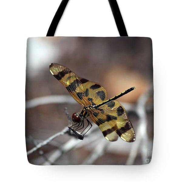 Bejeweled Wings Tote Bag